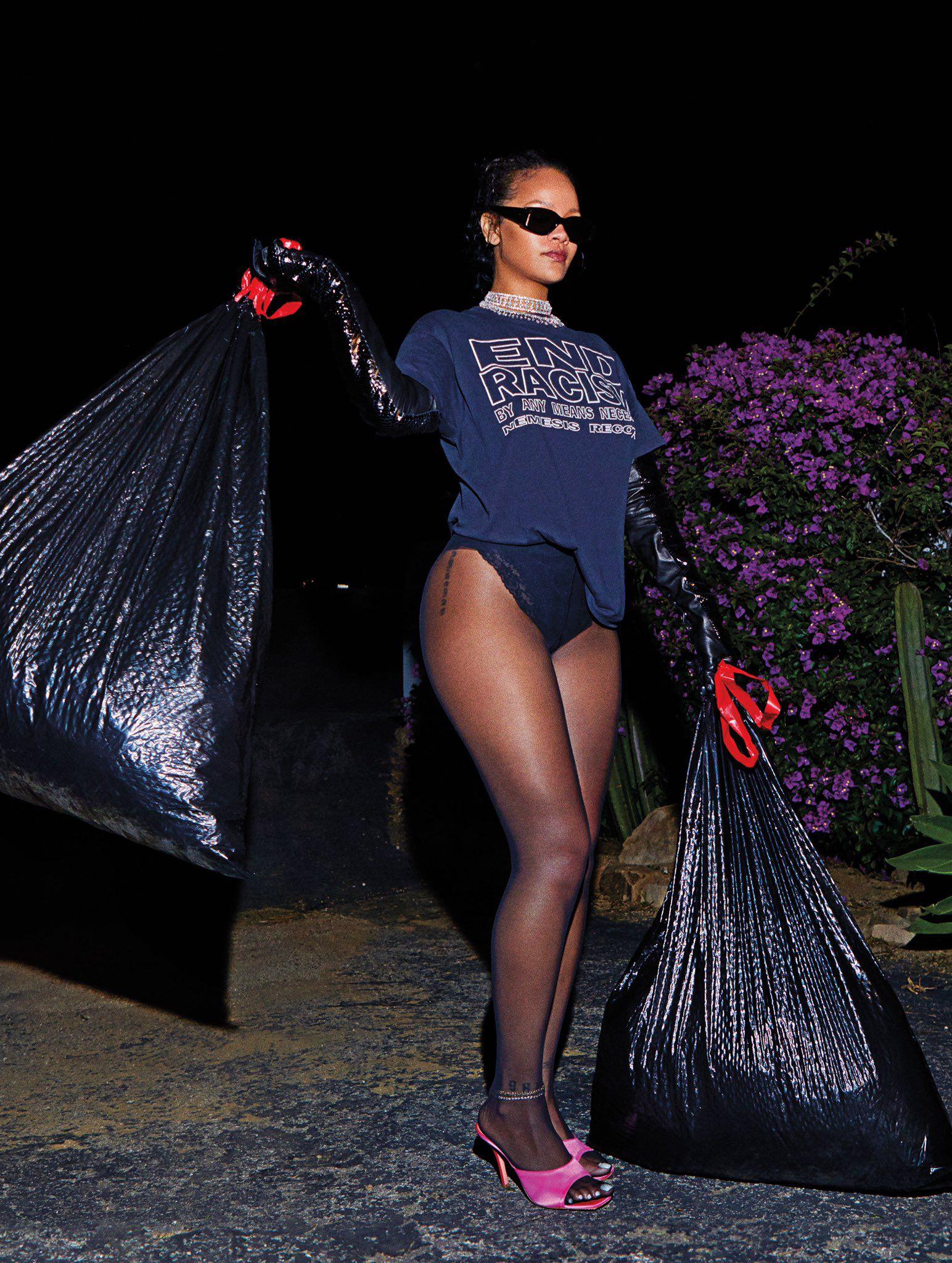 Rihanna Legs In Tights