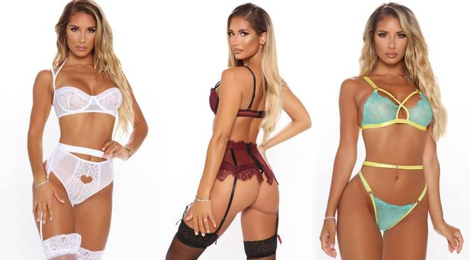 Sierra Skye – Fantastic Boobs and Ass in a Sexy Lingerie Photoshoot