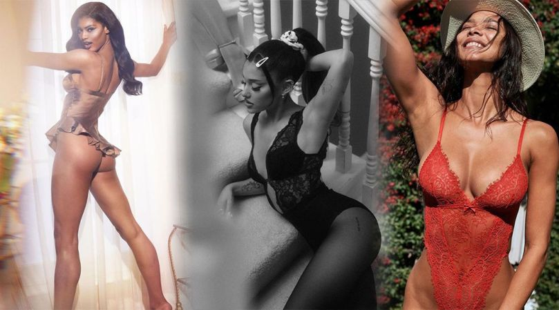 Ariana Grande Sexy In Lingerie