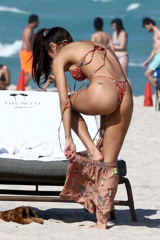 Chantel Jeffries In Thong Bikini