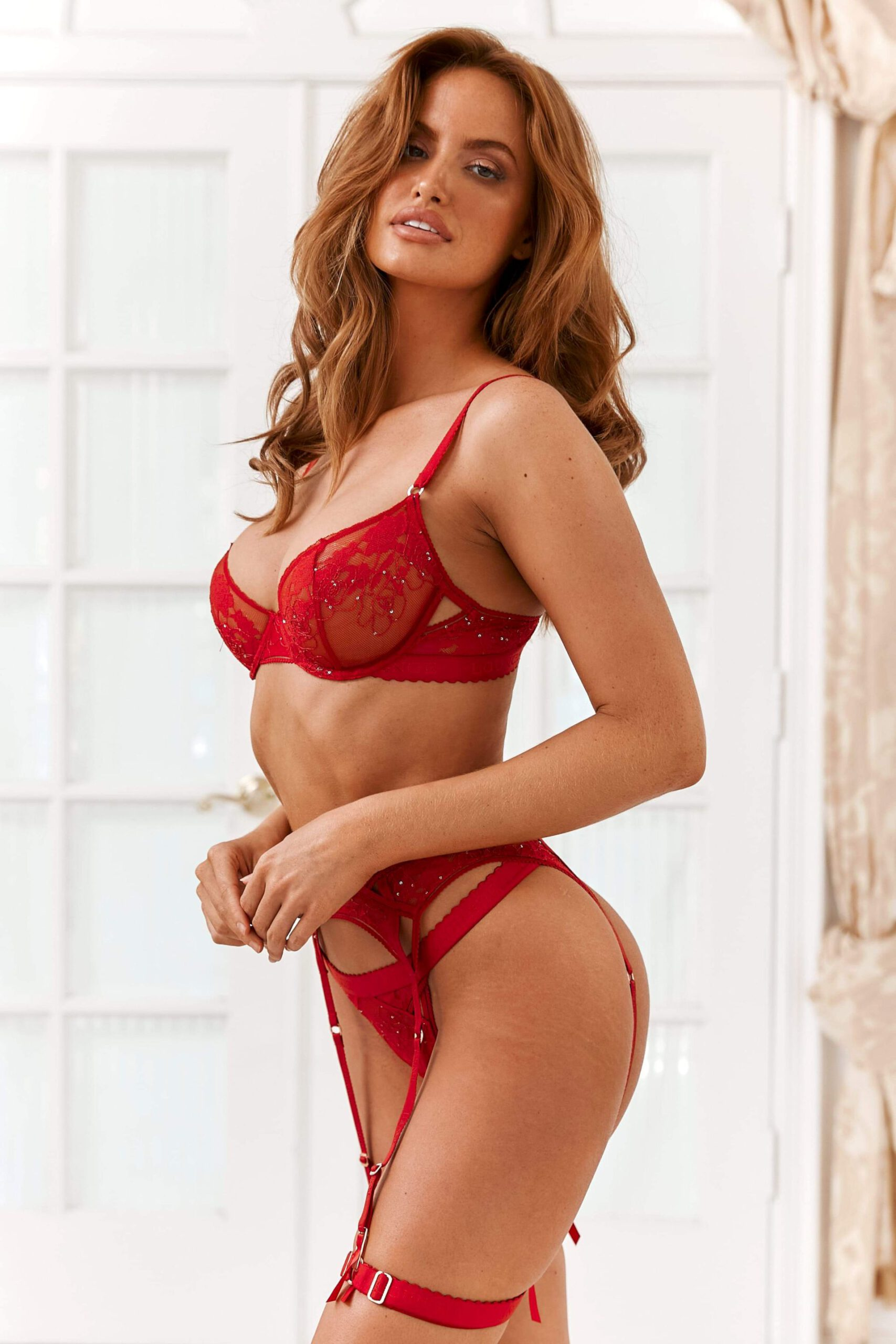 Haley Kalil In Sexy Lingerie