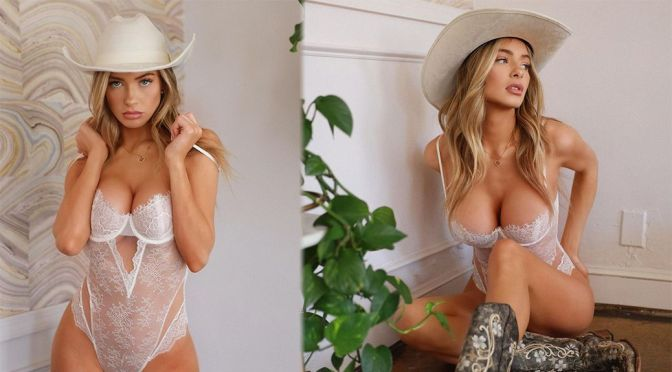 Hannah Palmer – Stunning Body in a Sexy Lingerie