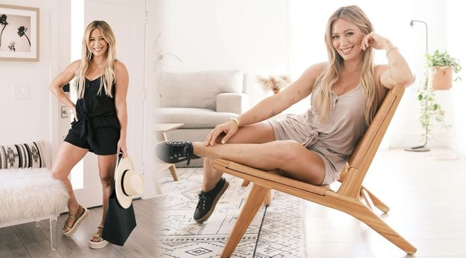Hilary Duff Sexy Legs