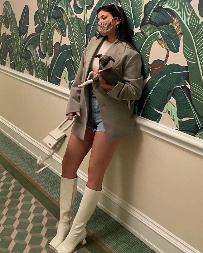 Kylie Jenner Leggy