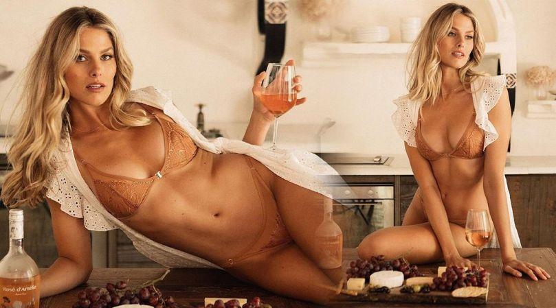 Natalie Jayne Roser Sexy In Panties And Bra