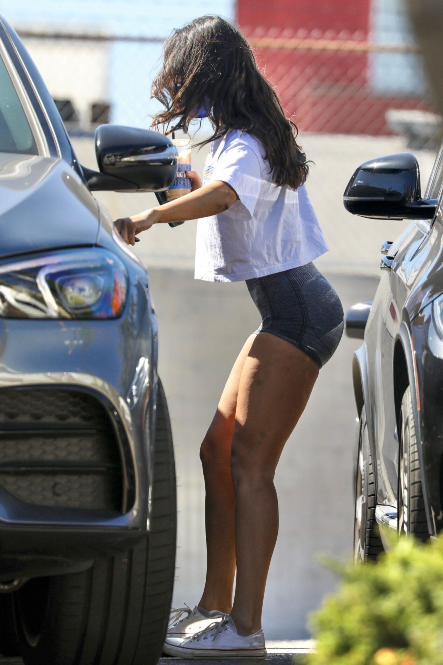 Eiza Gonzalez In Tiny Shorts
