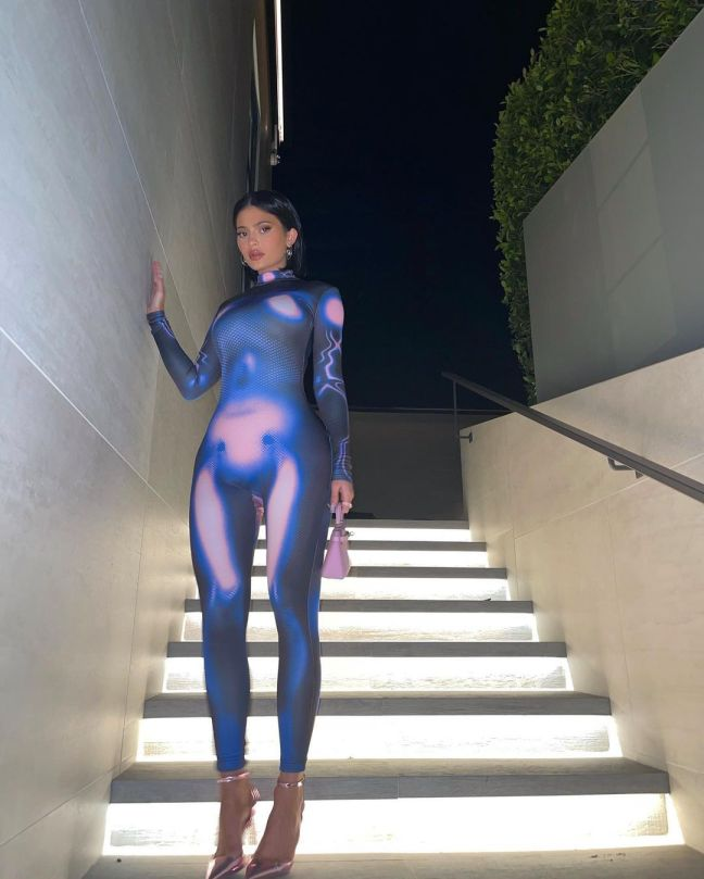 Kylie Jenner Sexy Outfit
