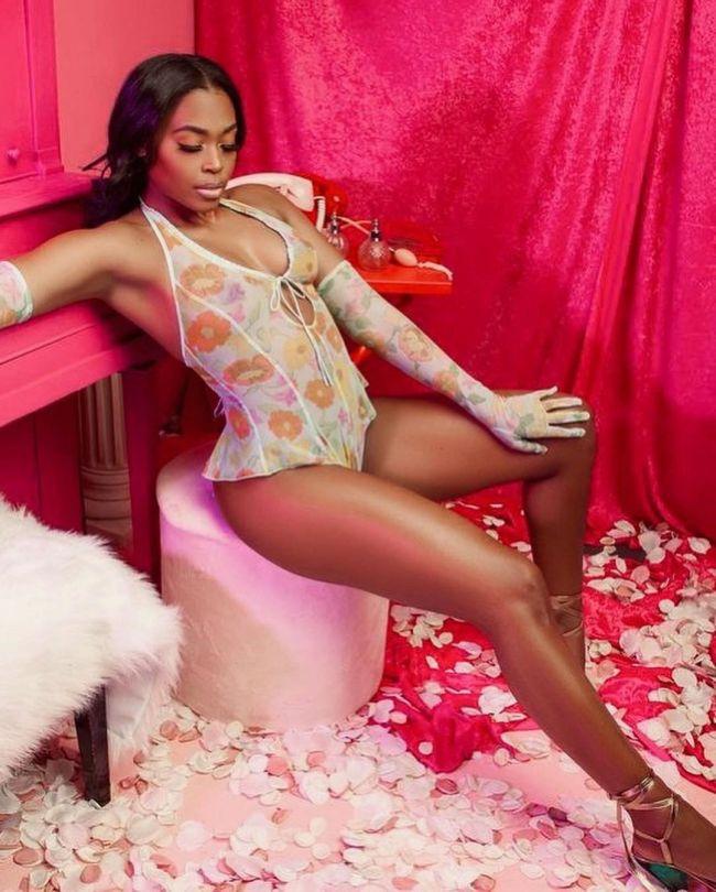 Nafessa Williams Sexy In Lingerie