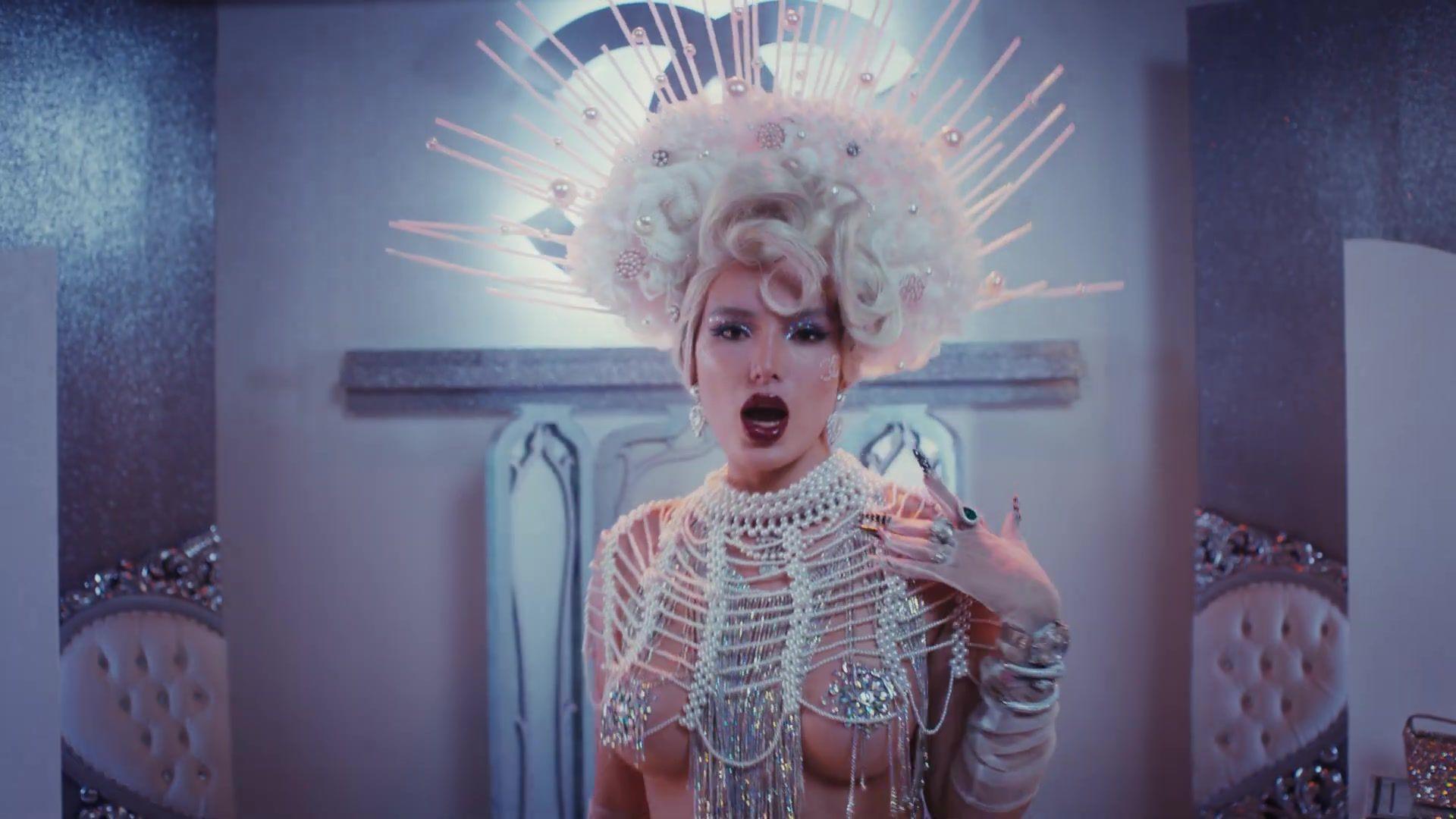 Bella Thorne - Sexy Nipslip in Phantom Music Video - Hot