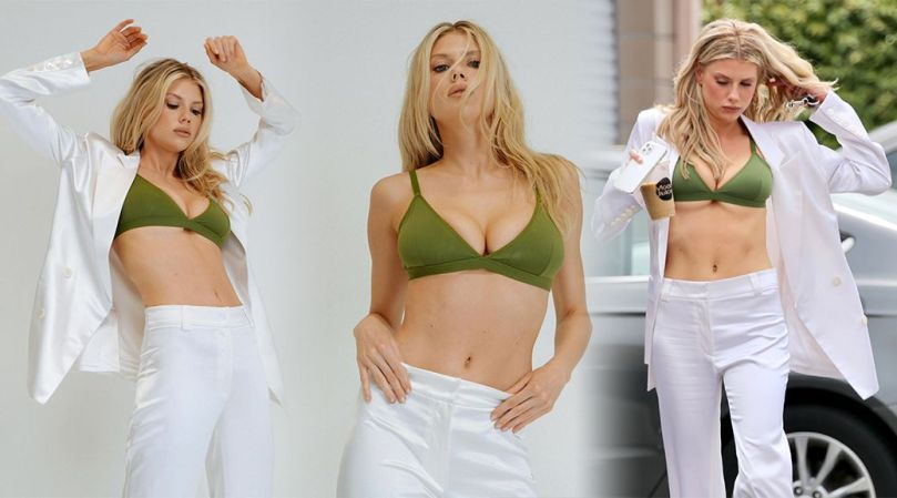 Charlotte Mckinney Sexy Big Tits In Bra