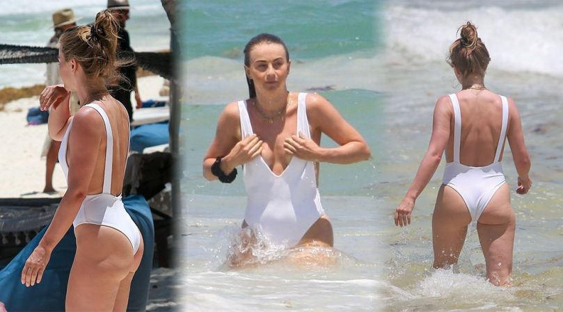 Julianne Hough Gorgeous Ass In Swimsuit