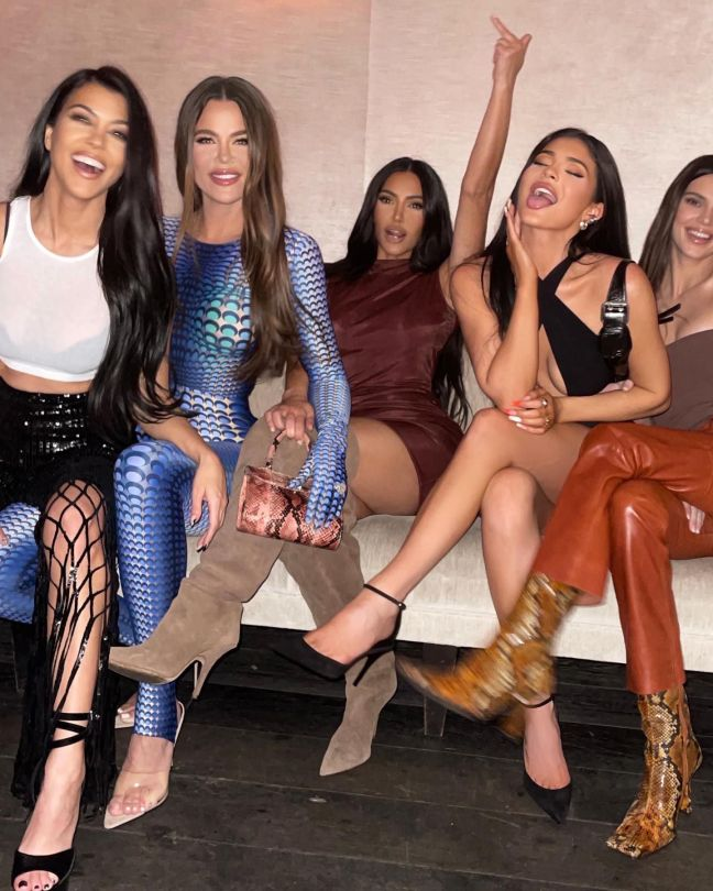Kardashian Jenner Sisters