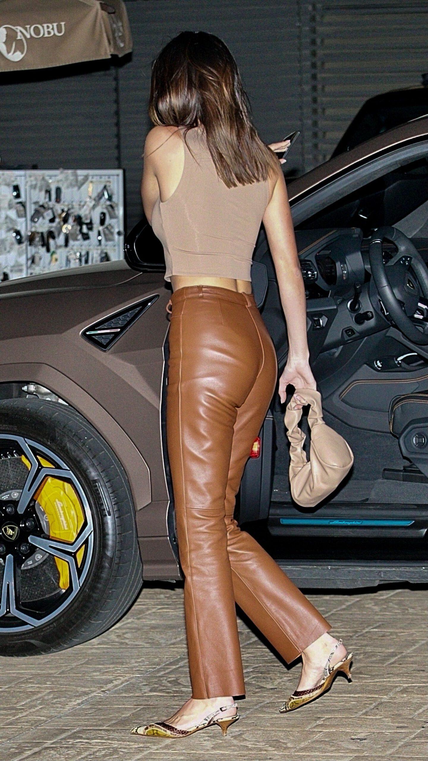 Kednall Jenner Sexy Pants