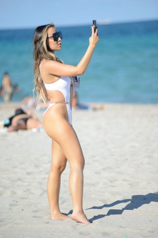 Lila L Opie Sexy In Swimsuit