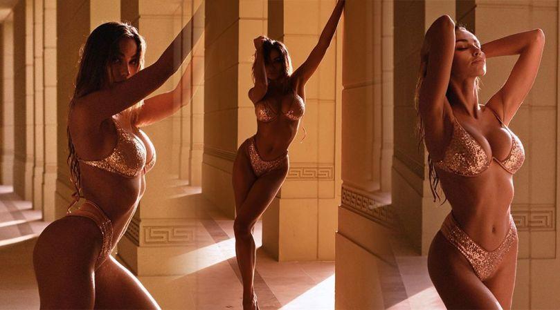 Madalina Diana Ghenea Gorgeous Body In Bra And Panties
