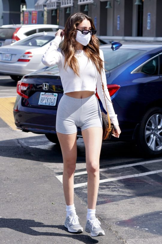 Madison Beer Sexy Camel Toe