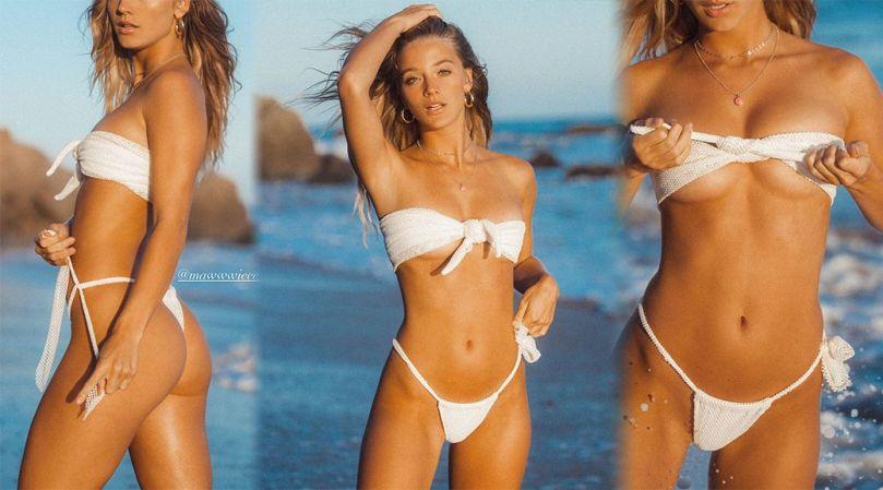 Marie Tomas Sexy In Tiny Bikini