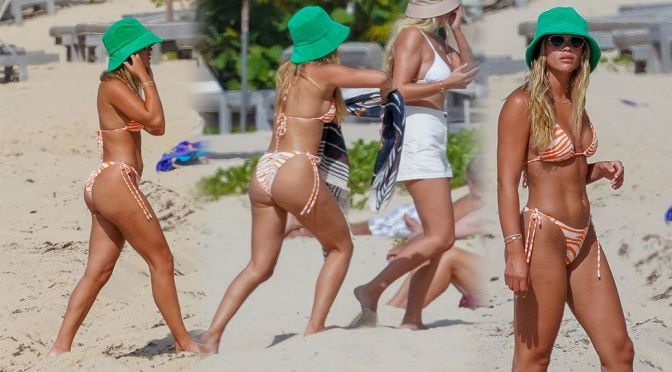 Sofia Richie – Stunning Body in Bikini on the Beach in St. Barts