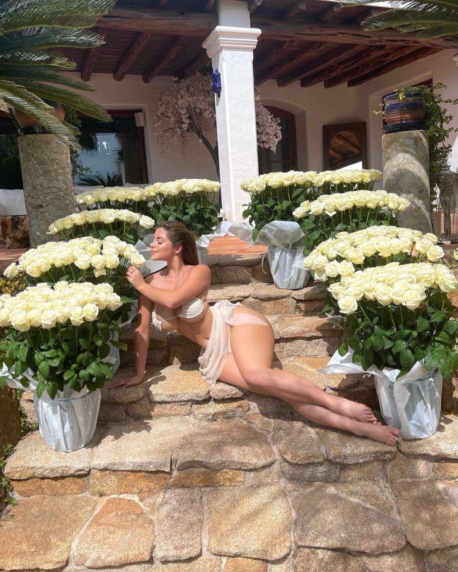 Demi Rose Mawby Beautiful Body In Bikini