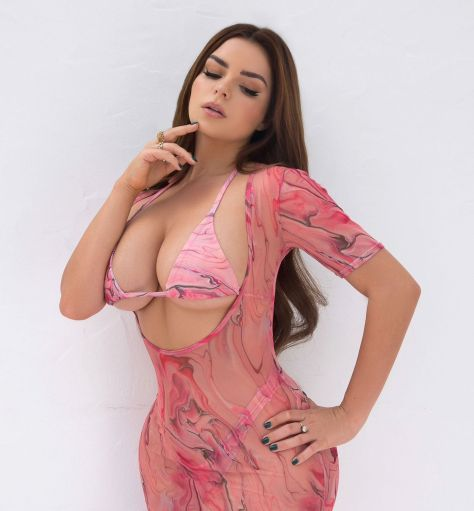 Demi Rose Mawby Spectacular Boobs
