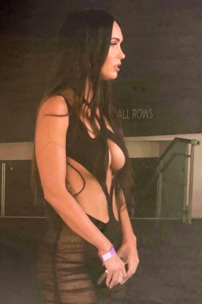 Megan Fox In Sexy Dress