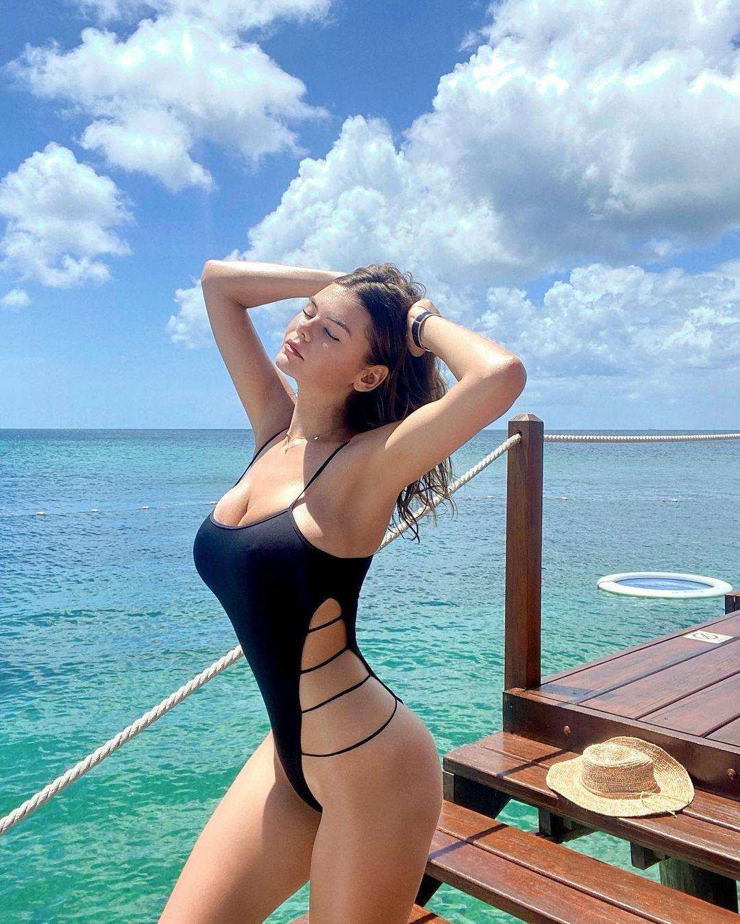 Ashley Tervort In Swimsuit