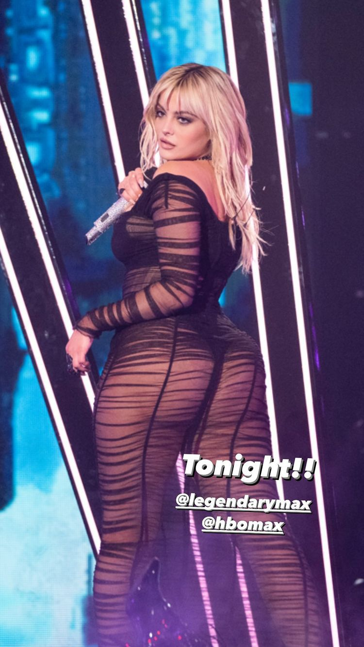Bebe Rexha Big Ass On Stage