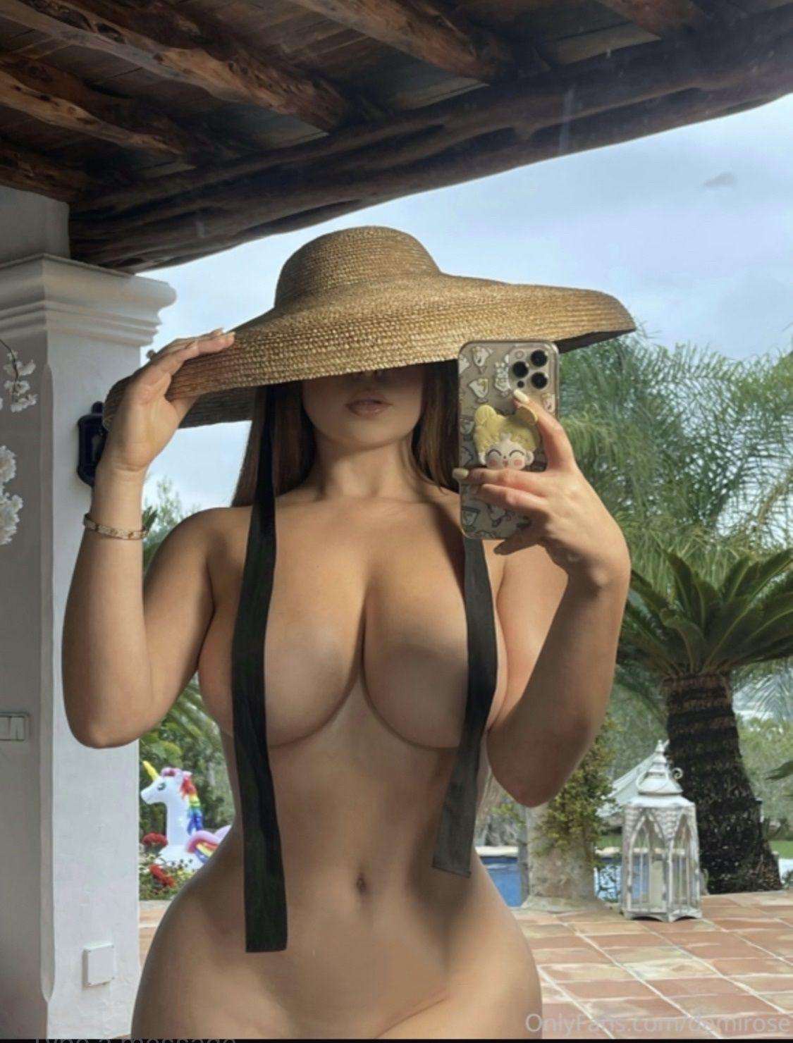 Demi Rose Topless