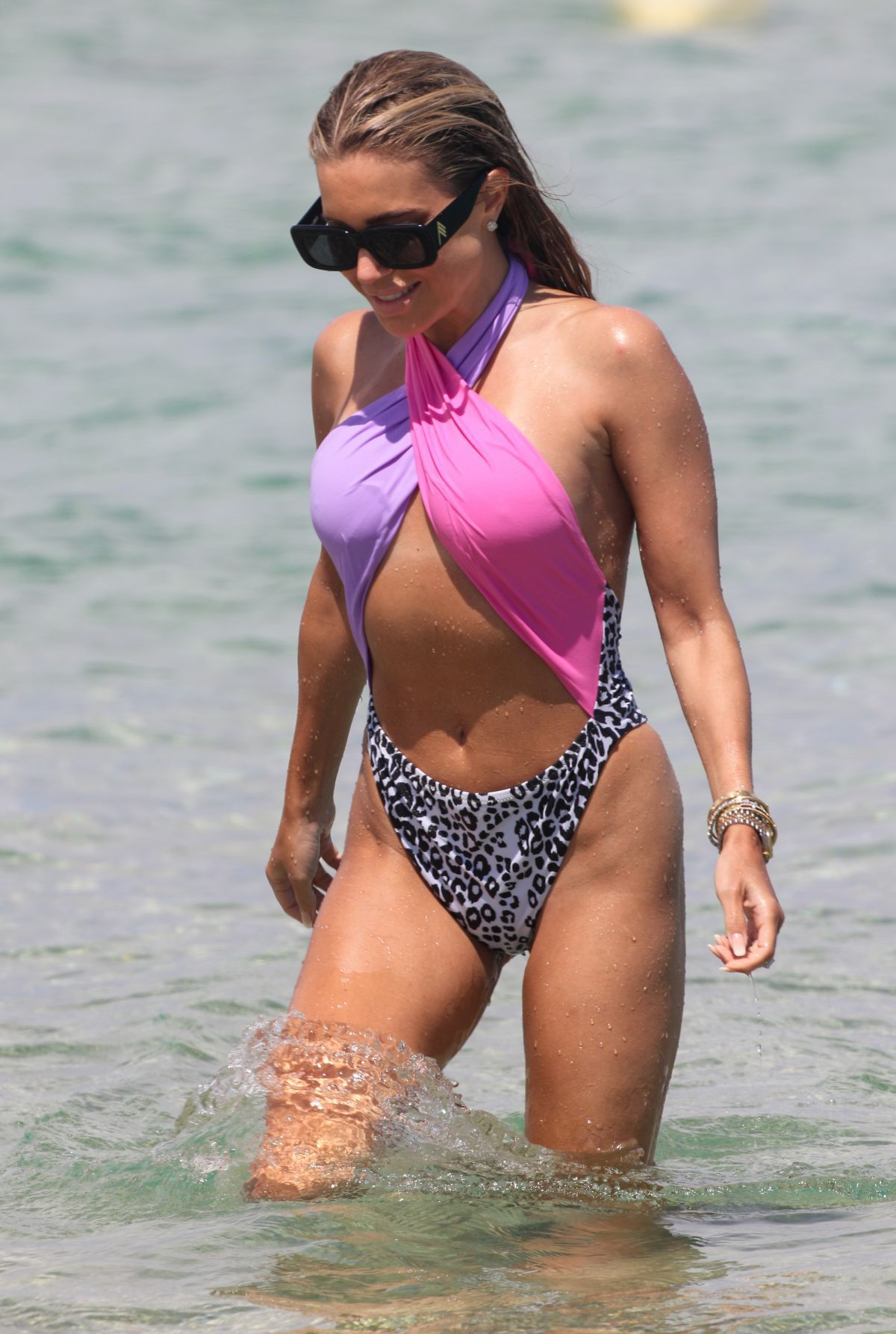 Sylvie Meiss In Sexy Swimsuit