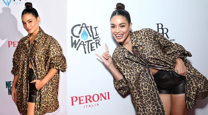 """Vanessa Hudgens – Sexy in Shorts at """"Asking For It """" Premiere in New York"""