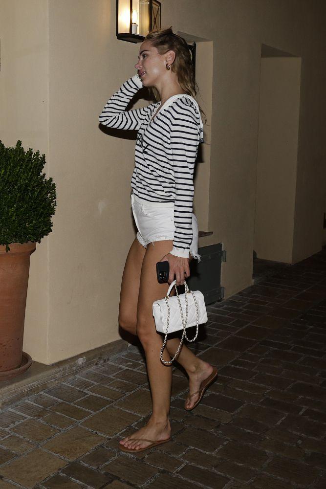 Kimberley Garner In Tiny Shorts