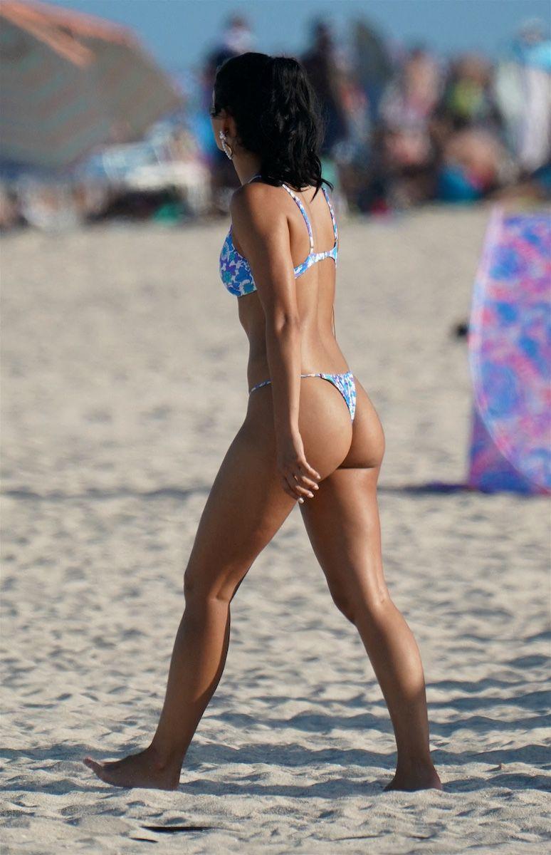 Camila Mendes In Thong Bikini