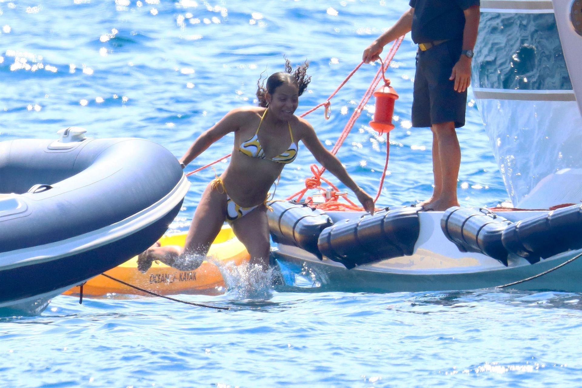 Christina Milian Sexy In Bikini