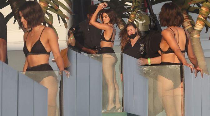 Lucy Hale – Beautiful Ass in Bikini at a Photoshoot in Malibu