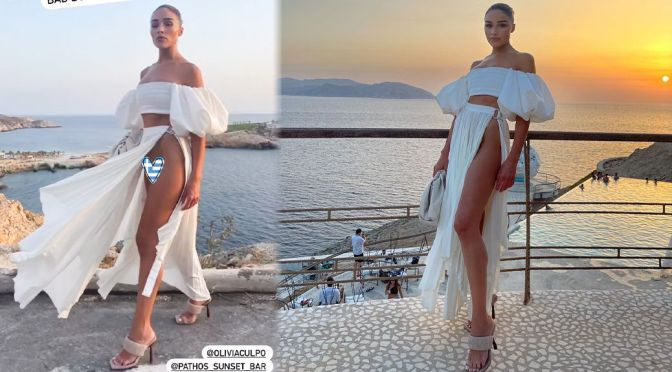 Olivia Culpo – Gorgeous Legs in a Sexy Pantyless Photoshoot