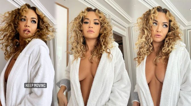 Rita Ora's Sexy Braless Cleavage and Other Sexy Links!