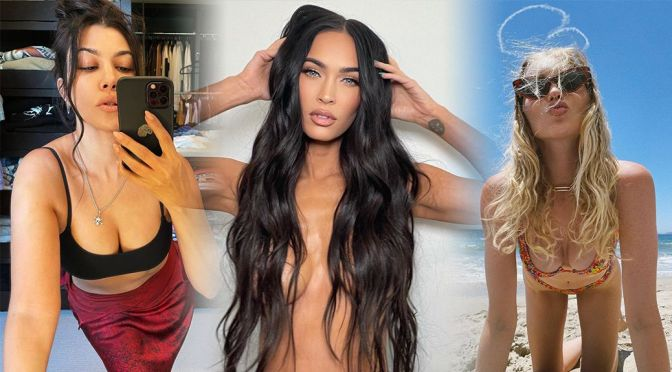 Megan Fox Topless and Other Celebrities in a Weekly Instagram/Twitter Roundup