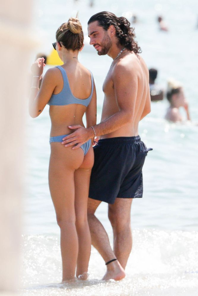 Thylane Blondeau In Thong Bikini