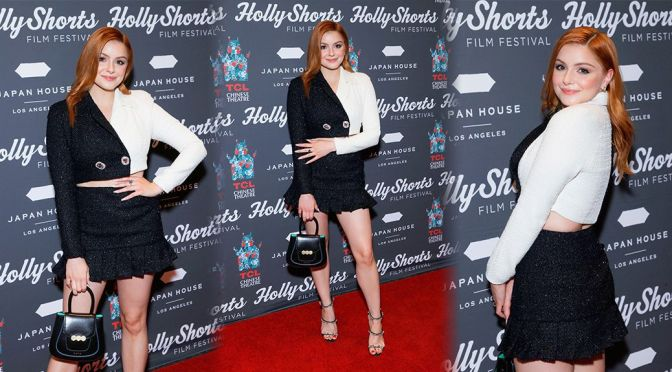 Ariel Winter – Beautiful Legs in Mini Skirt at 17th Annual HollyShorts in Hollywood
