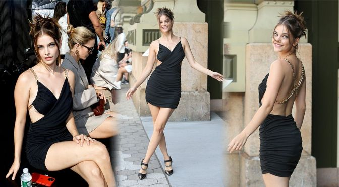 Barbara Palvin Beautiful Legs And Boobs