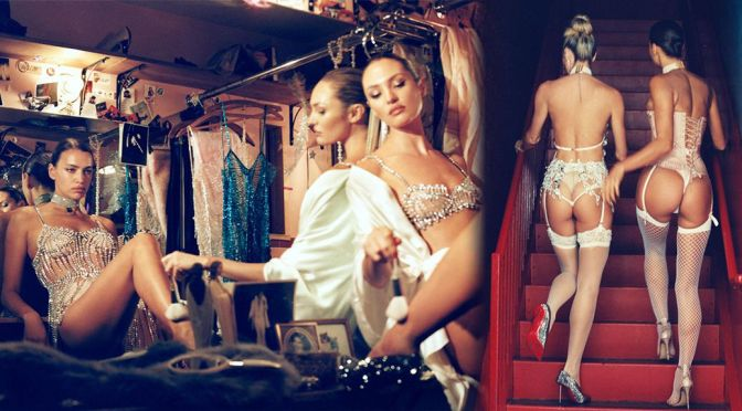 Candice Swanepoel & Irina Shayk – Fantastic Asses in Sexy Lingerie for CR Fashion Book Issue 19