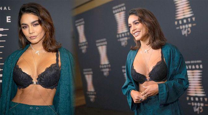 Vanessa Hudgens Sexy Boobs In Bra