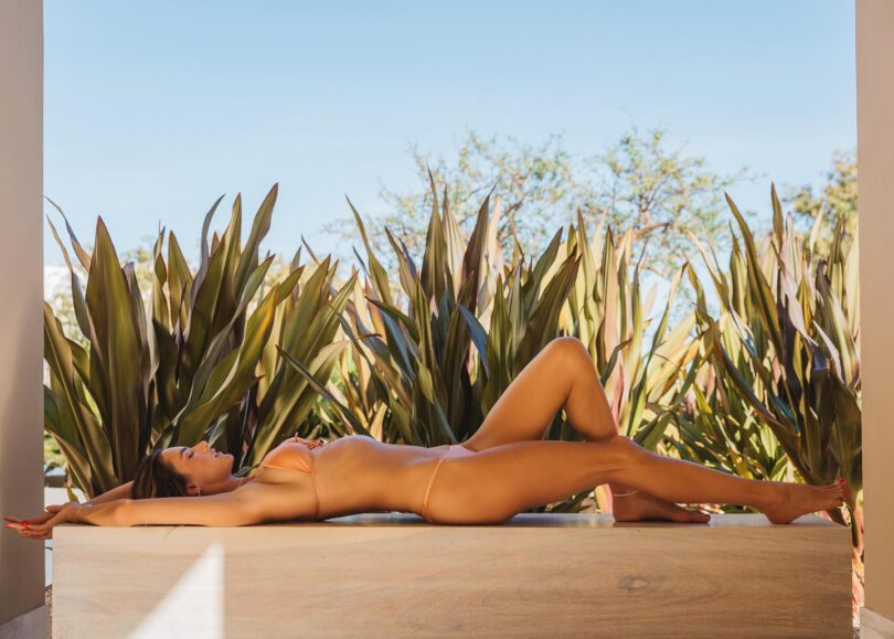 Alessandra Ambrosio Gorgeous Toned Body In Bikini