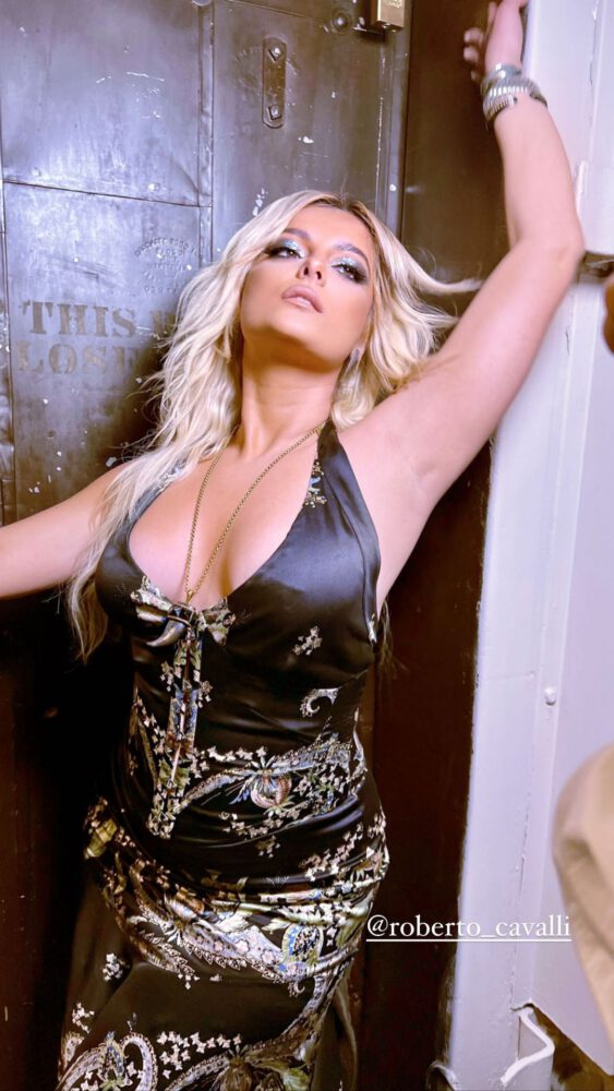 Bebe Rexha Sexy Cleavage