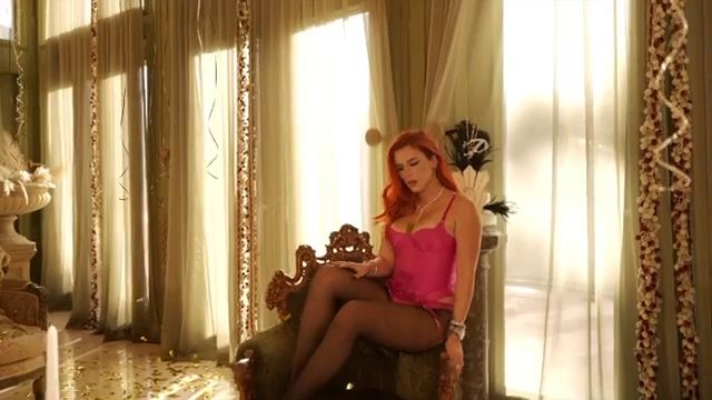 Bella Thorne Sexy Body In Stockings