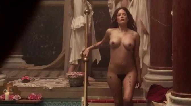 Halsey Topless Boobs