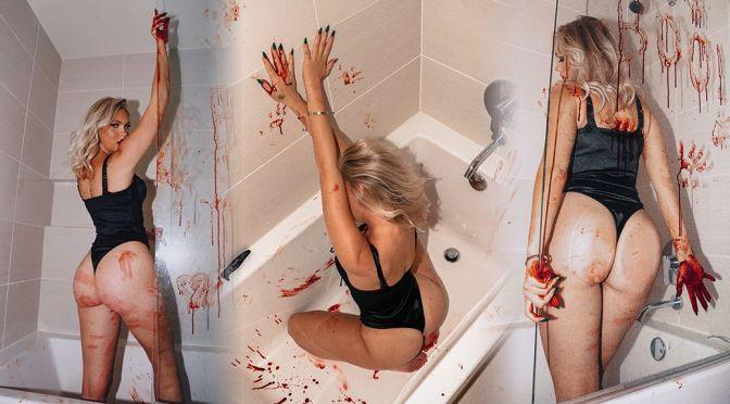 Jordyn Jones – Perfect Ass in a Sexy Bathtub Photoshoot