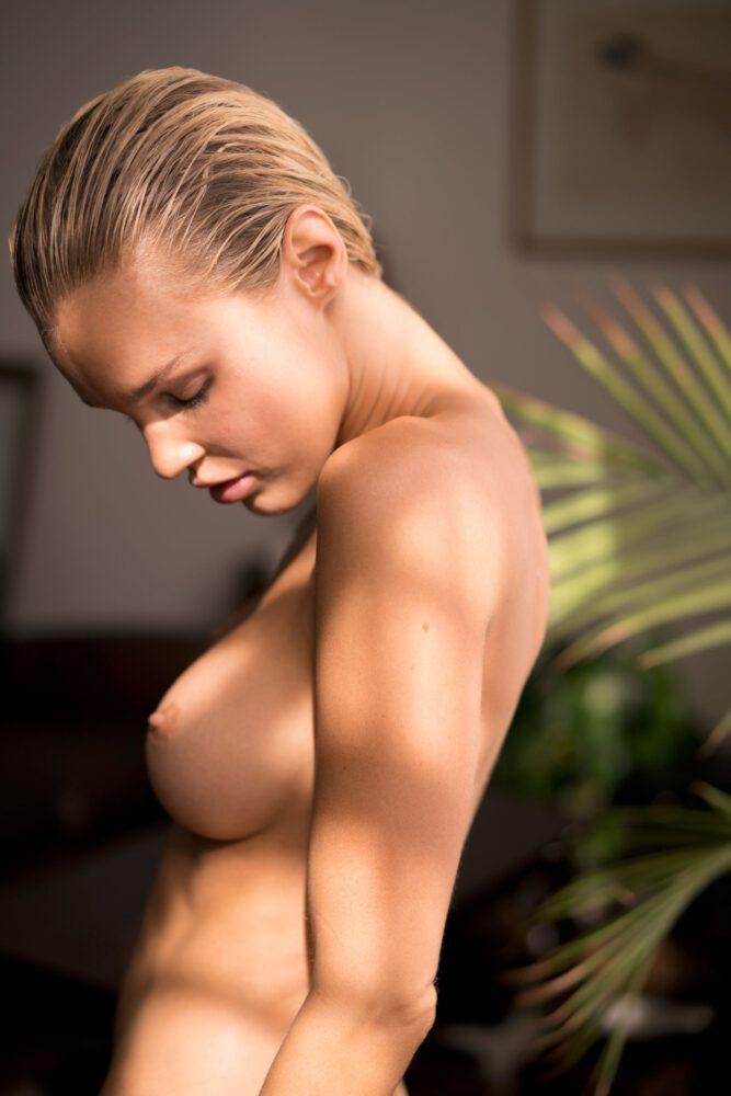 Joy Corrigan Topless Boobs