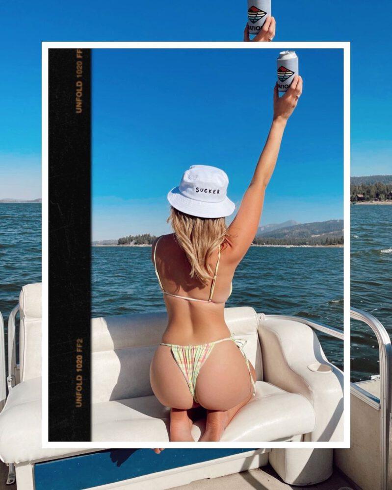 Katrina Bowden Beautiful In Thong Bikini