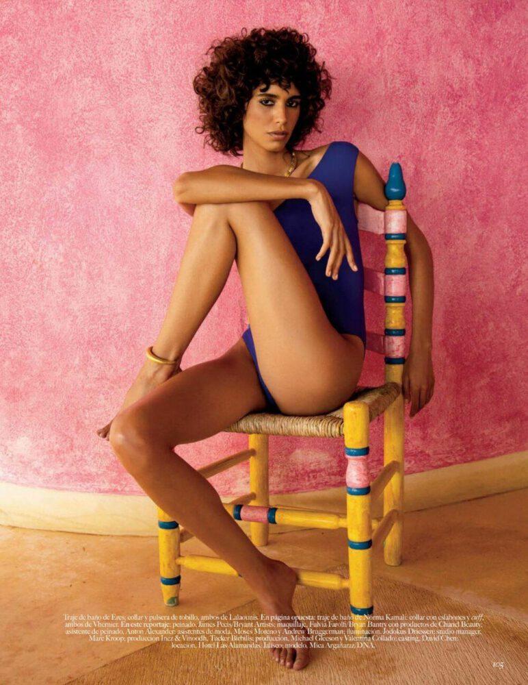Mica Argaanaraz Beautiful Naked Body